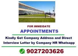 Appoointments for Call Centre, BPO, Telecaller, Office, Executive