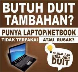 Cari laptop minus dan normal