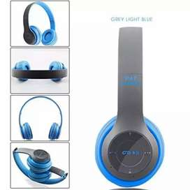 Bluetooth Over Ear Foldable Headset,Microphone Stereo Earphone 3.5mm