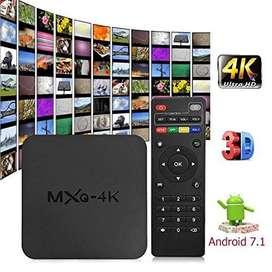 MXQ 4K android 7.1 Android Smart TV Box 1gb Ram 8Gb Rom