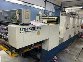 Komori lithrone 426 four Color offset printing machine for sale
