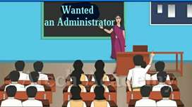 Administrator Cum Teacher