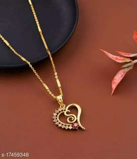 ALL LETTERS GOLD PLATED MANGALSUTRA CHAIN