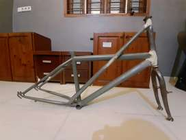 Jual Frame Sepeda Bahan Rakit Minivelo plus fork & rims velg 20