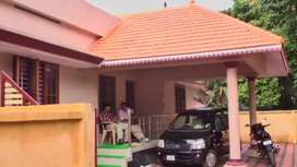 7cent 3 bedroom house in valathungal. Kollam