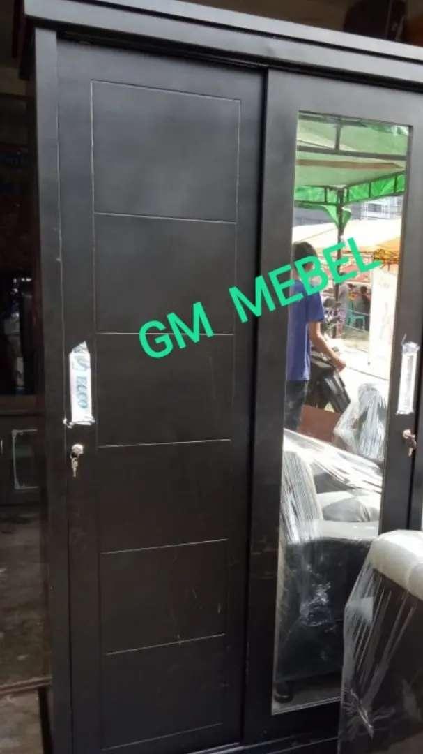 GM MEBEL. Lemari Sliding S. Jati 2 Pintu 0