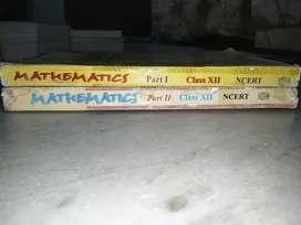 NCERT class 12 mathematics textbook(part 1 & 2)