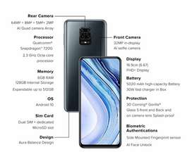 Seal Pack Redmi Note 9 Pro Max With GST Bill
