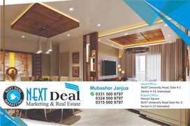 2 Beds Brand New Apartment for Family Nearto NUST Road Sector H 13 ISB