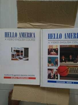 Buku Panduan belajar bhs Inggris Hello Amerika