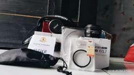 Mirrorless Nikon J2 + Lensa Fix Meike 35mm Udah Bisa Slowmo Cuk