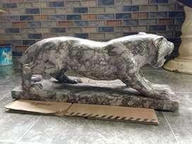 Patung Macan cheetah / panther hitam