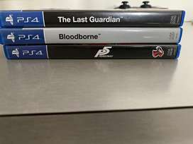 Ps4 games for sale or exhange