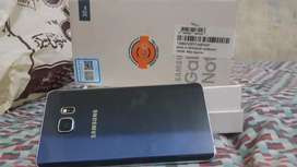 Samsung galaxy NOTE 5  with BOX and orignal CHARGER.