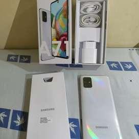 Samsung A71 3mggu pakai nota print