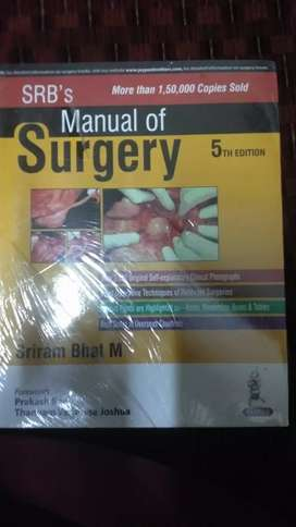 SRB'S Manual of Surgery for MBBS 3rd years