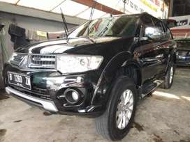 Pajero sport exceed at hitam 2014 good condition