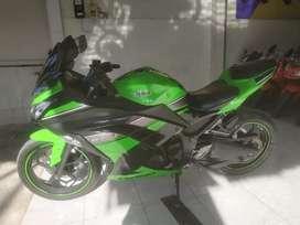 Bali dharma motor, jual ninja SE ABS THN PMK 2013