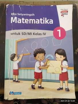 Buku Bekas Matematika kelas 4 Cibitung