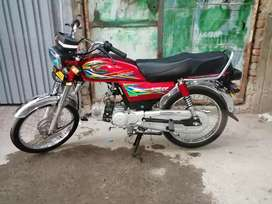 United 70cc 2020 fsd number new only 2300 km running