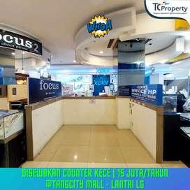Disewakan Counter KECE by TC Property harga 1jutaan,cocok usaha Gadget