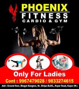 Ladies gym trainer ( female only )
