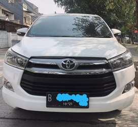 Toyota Innova Reborn Diesel 2.4 Matic Type V Putih Plat Nopol Ganjil