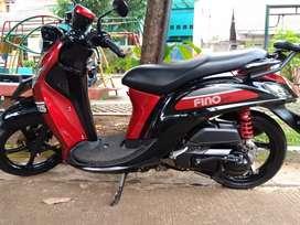 Fino Sporty Red black 2018 cimanggis Depok