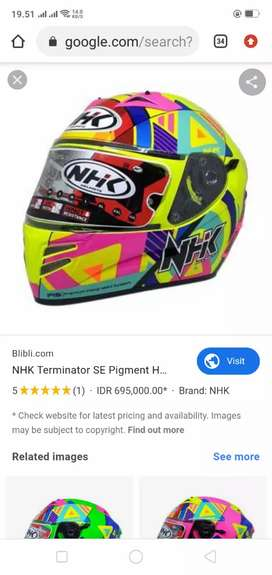 Cari Helm NHK Full face .