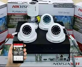 CCTV DENGAN  KAMERA TERBAIK FREE SETTING ONLINE