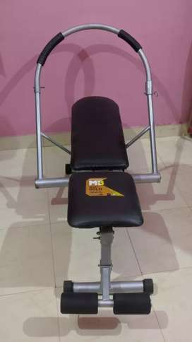 Gym machine for abdomen