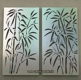 Partition laser cut modern design