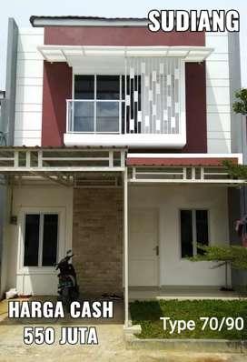 Rumah Millenial 2 Lantai Murah dkt Pasar Daya, KIMA, GOR. Indent 6 bln