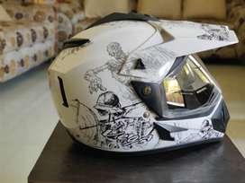 2 months old Vega Dirt Helmet.