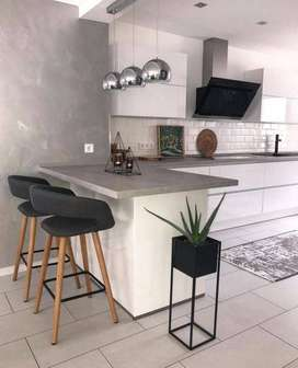 FURNITURE INTERIOR DESAIN FURNITURE  KITCHEN   MINI BAR BERKUALITAS