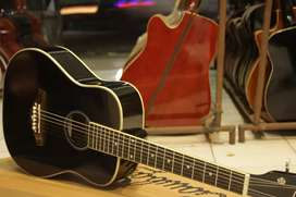 Gitar akustik black 3/4