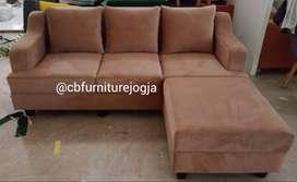 Sofa L Putus, Free 1 Meja