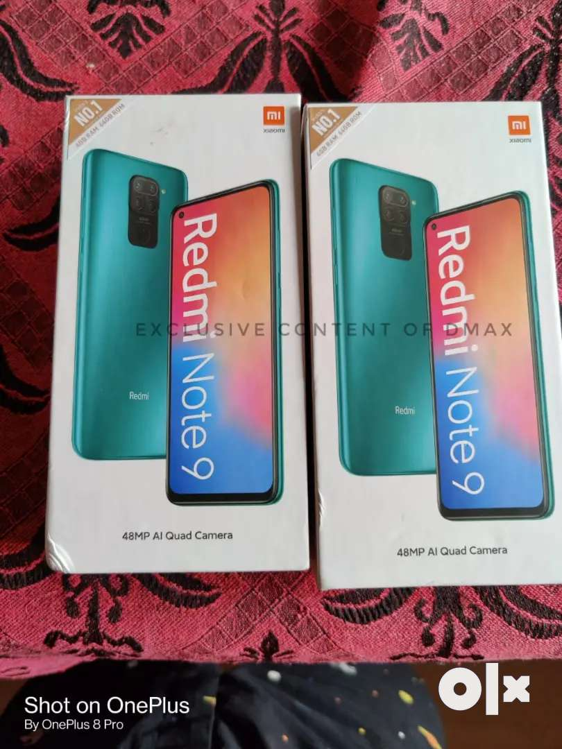 Redmi 9 prime, Note 9, redmi 9 & 9a,Narzo 10 sealed pack Ready stock 0