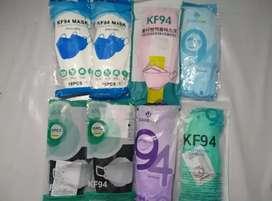Masker KF94 warna warni