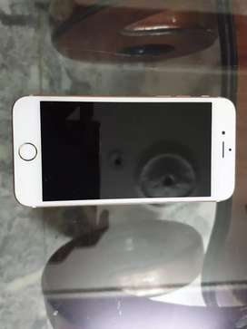 Apple / iphone6s/ rose gold colour/ 16GB storage