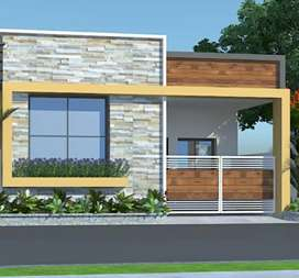 Newely constructed house for sale at Veerander patil G. D.A