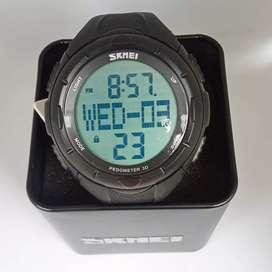 Skmei 1122 original pedometer waterresist jam tangan sport malang