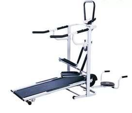 Treadmill manual multifungsi