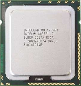 I7 960 and i5 750 1st generation processors only.