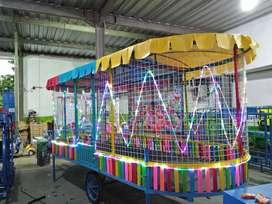 odong tayo robocar kereta mini thomas mandi bola gerobak playground 11