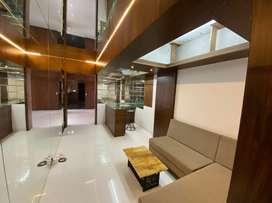 3bhk  flat fully furnished at Rent saket square indore