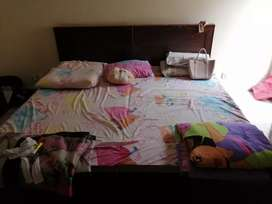 2 Single bed with mattress