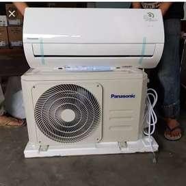 Ac panasonic baru 1/2 pk paket pasang gratis ongkirrr & gratis cuci 1x