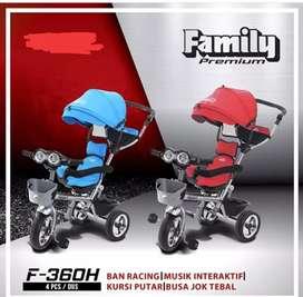 SEPEDA RODA TIGA FAMILY 360 H