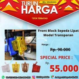 Front Block Depan Sepeda Lipat Model Transparan